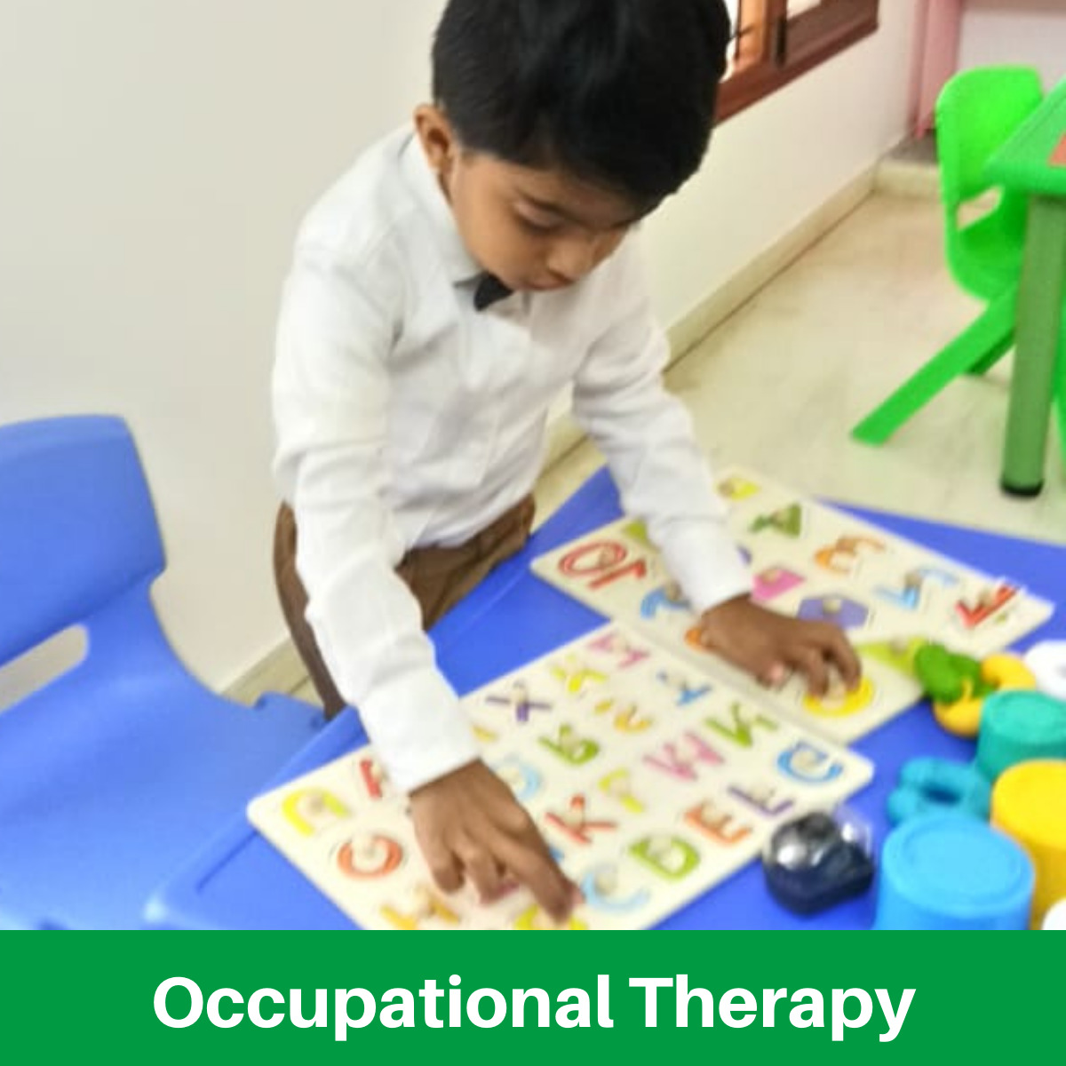 Occupational Therapy Early Autism Services Bengaluru